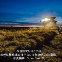 12279073_1718143228415792_8686993731587407010_n.jpg 米国 コメの収穫作業