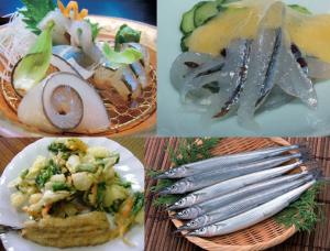春に食べたいキラキラ魚