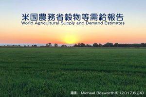 米国農務省穀物等需給報告