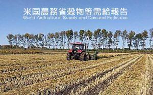 米国農務省穀物需給報告